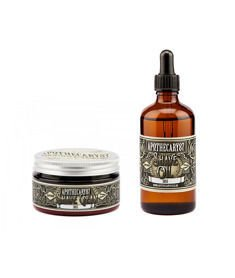Apothecary 87-Shave Cream & Oil Zestaw do Golenia