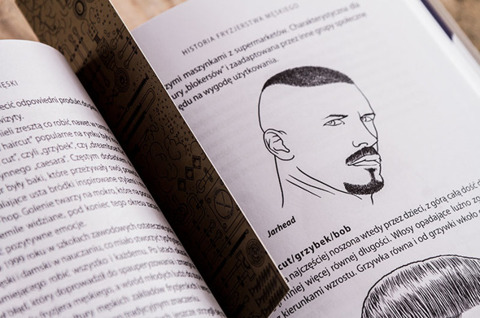 Adam Szulc-Fryzjer Męski Książka