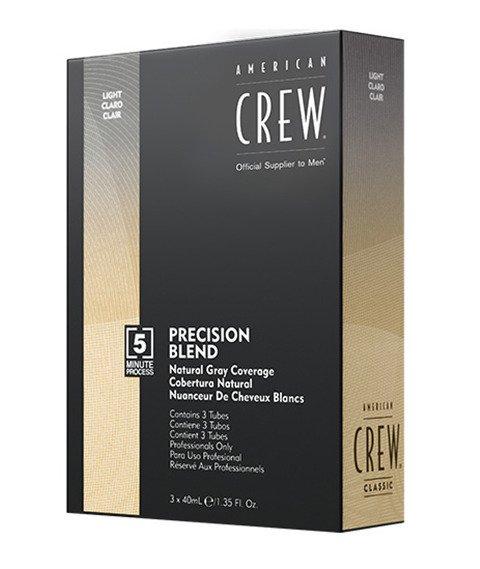 American Crew-Precision Blend Farba Odsiwiacz do Włosów Light