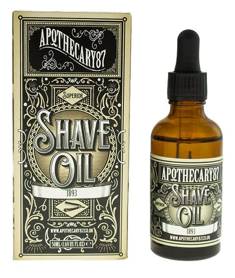 Apothecary 87-1893 Shave Oil Olejek do Golenia 50 ml
