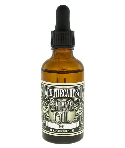 Apothecary 87-1893 Shave Oil Olejek do Golenia 50ml