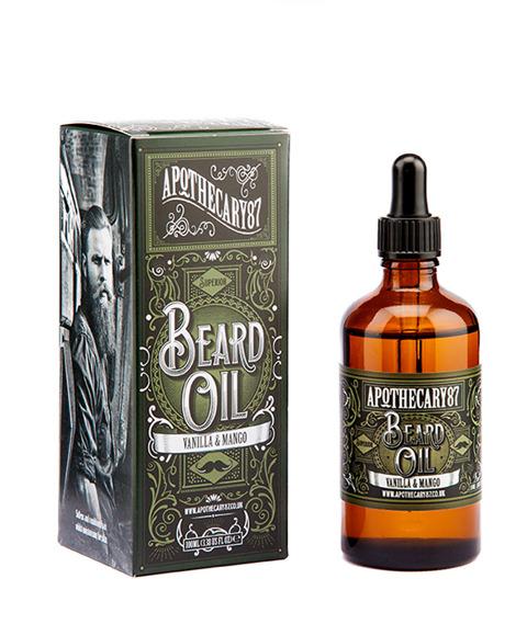 Apothecary 87-Mango & Vanilla Beard Oil Olejek do brody 100ml