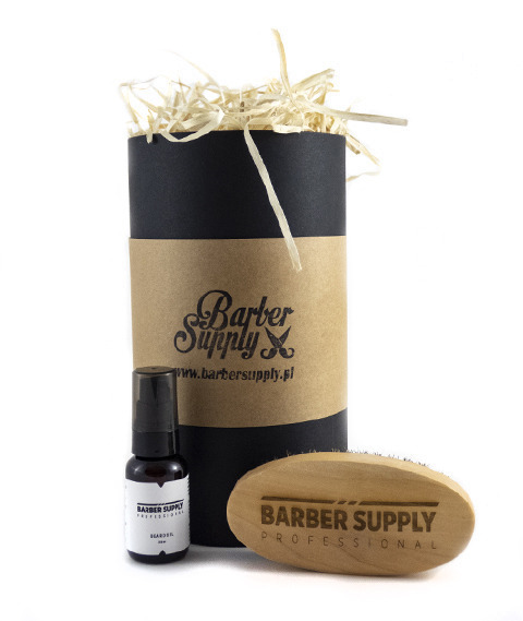 Barber Supply Professional-Beard Grooming Kit Zestaw