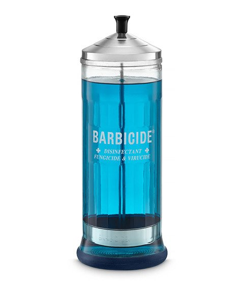 Barbicide-Pojemnik szklany do dezynfekcji - duży 1100 ml