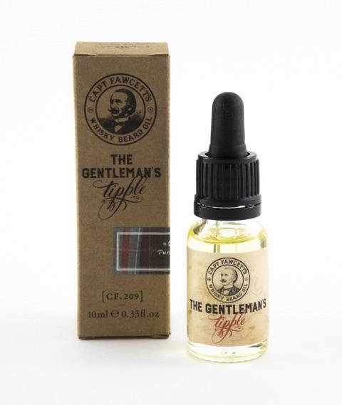 Captain Fawcett's-Whisky Beard Oil Olejek do Brody 10 ml