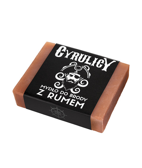 Cyrulicy-Mydło do Brody z Rumem 100g