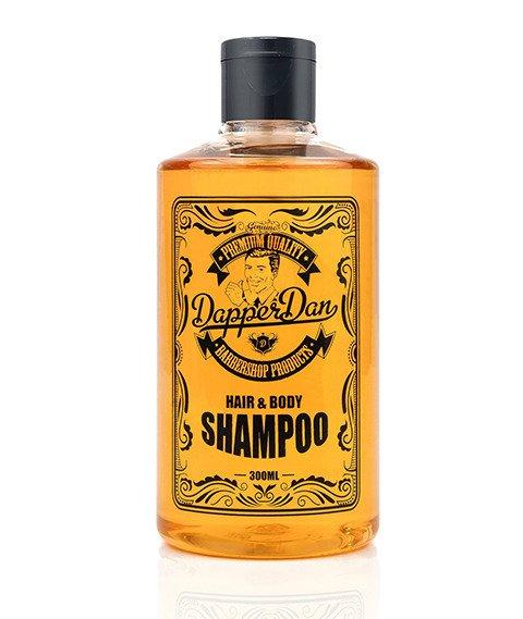 Dapper Dan-Hair & Body Shampoo Szampon do Włosów i Żel pod Prysznic 300 ml