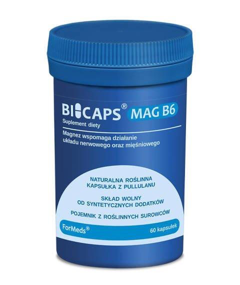 ForMeds-BICAPS MAG B6 Suplement Diety Magnez + B6 60 kapsułek