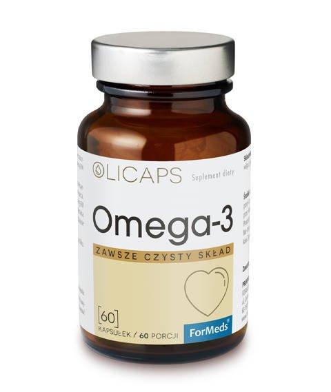 ForMeds-OLICAPS OMEGA 3 Suplement Diety Kwasy Omega 60 kapsułek
