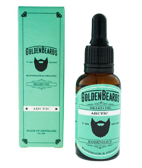 Golden Beards-Beard Oil Arctic Olejek do Brody 30ml
