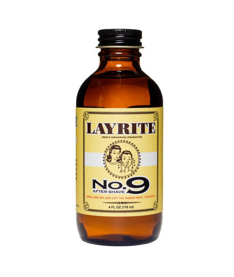 Layrite-Bay Rum Aftershave Płyn po goleniu 118ml