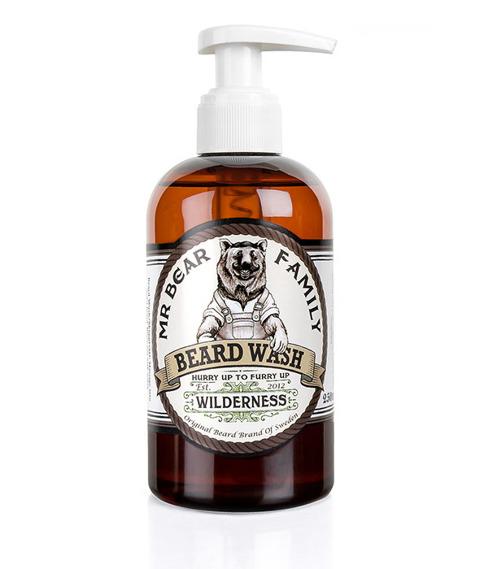 Mr Bear-Beard Wash Wilderness Szampon do brody 250ml