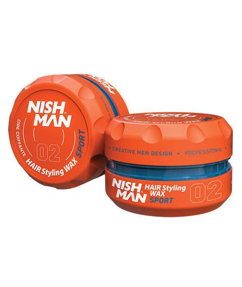 Nishman-02 Hair Styling Wax Sport Pomada do Włosów 150 ml