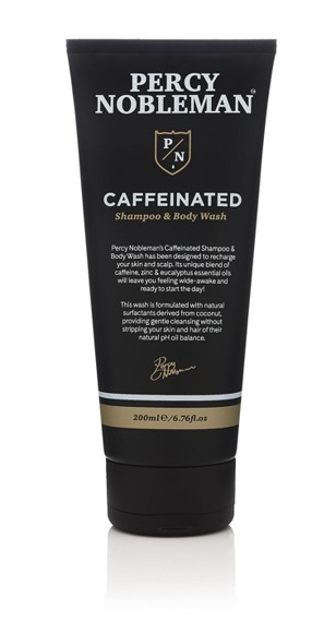 Percy Nobleman-Coffeinated Shampoo & Body Wash 200ml