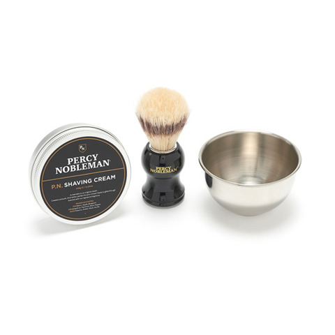 Percy Nobleman-Traditional Shave Kit Zestaw do Golenia