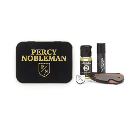 Percy Nobleman-Travel Tin Zestaw Brodacza