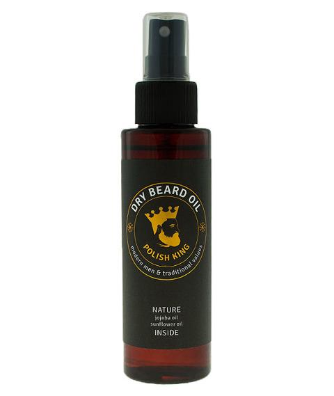 Polish King-Dry Beard Oil Olejek do Brody 100ml
