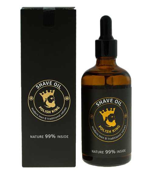 Polish King-Shave Oil Olejek do Golenia 100ml