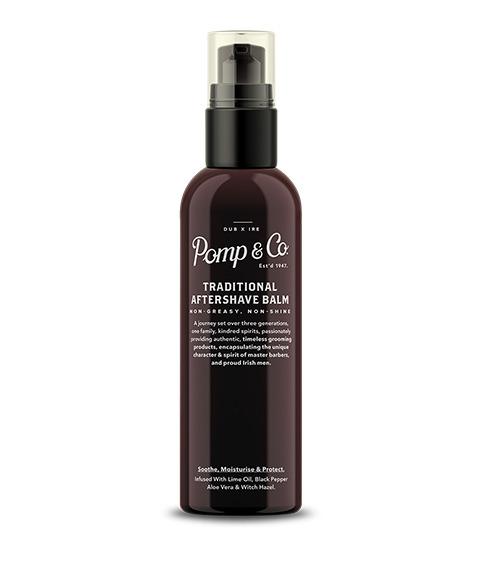 Pomp & Co.-Traditional Aftershave Balm Balsam po Goleniu 100 ml