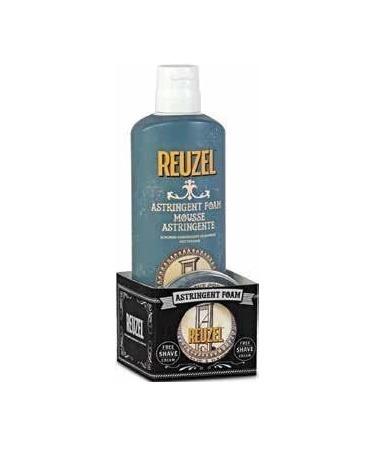 Reuzel-Astringent Foam Pianka Tonizująca 200ml + Krem do Golenia 28g