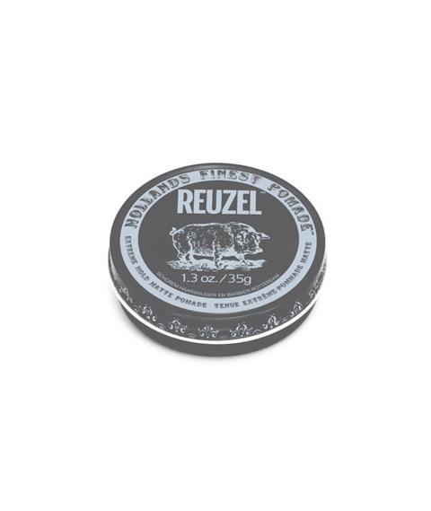 Reuzel-Extreme Hold Matte Pomade Matowa Pasta 35g