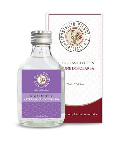 Saponificio Bignoli Carlo-Aftershave Lotion Mora e Muschio Woda po Goleniu 100 ml