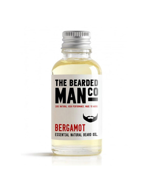 The Bearded Man-Bergamot Beard Oil Olejek Do Brody 30ml