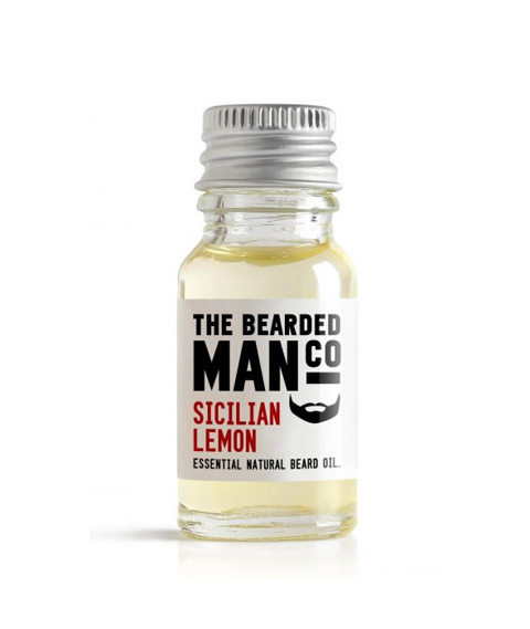 The Bearded Man-Sicilian Lemon Beard Oil Olejek Do Brody 10ml
