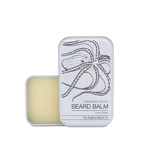 The Brighton Beard Co-Creampot Tom's Beard Balm 30ml Lime And Basil Balsam do Brody