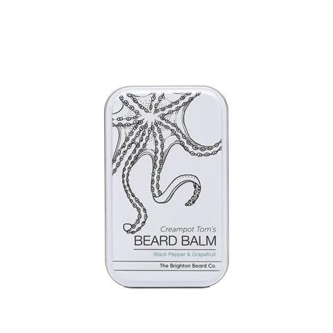 The Brighton Beard Co-Creampot Tom's Beard Balm Black Pepper & Grapefruit Balsam do Brody 80ml