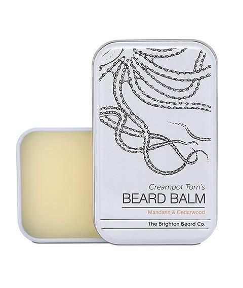 The Brighton Beard Co-Creampot Tom's Beard Balm Mandarin And Cedarwood Balsam do Brody 40ml