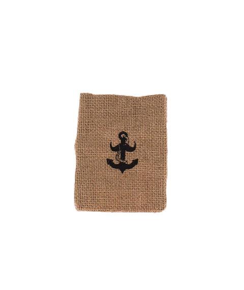 The Brighton Beard Co-Hessian Gift Bag Small Woreczek Prezentowy