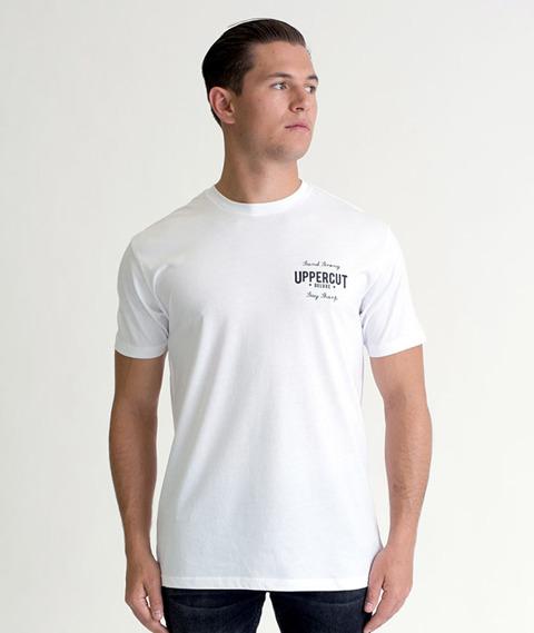 Uppercut Deluxe-Eagle T-Shirt White